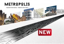 New grating METROPOLIS available for FASERFIX KS and RECYFIX PRO.