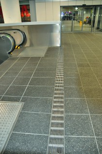 HAURATON drainage channels at Frankfurt Airport