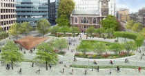 After many years of work, an urban oasis has risen. The new Aldgate Square has already won awards, including the 2018 National Urban Design Award.