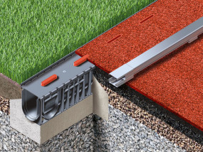 Products for drainage and running track boudaries according to World Athletics