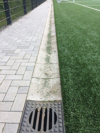 Microplastic from artificial turf into our environment