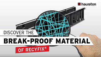 Why is RECYFIX® material that break-proof?