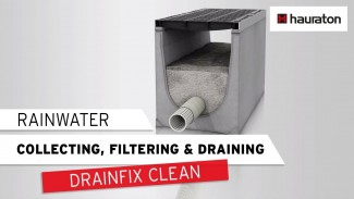 DRAINFIX®CLEAN - Filter substratum channel