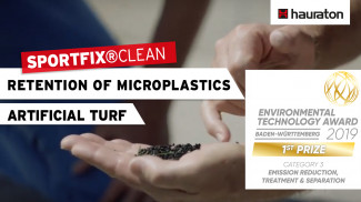 SPORTFIX®CLEAN receives Environmental Technology Award Baden-Württemberg 2019